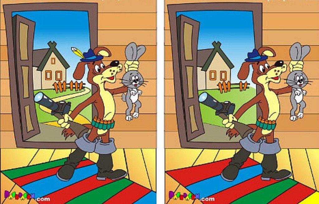 Различия на картинках играть